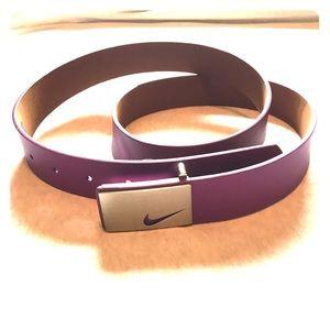 5ff1063f225369 Nike Accessories | Womens Golf Belt Tech Essentials Single Web ...